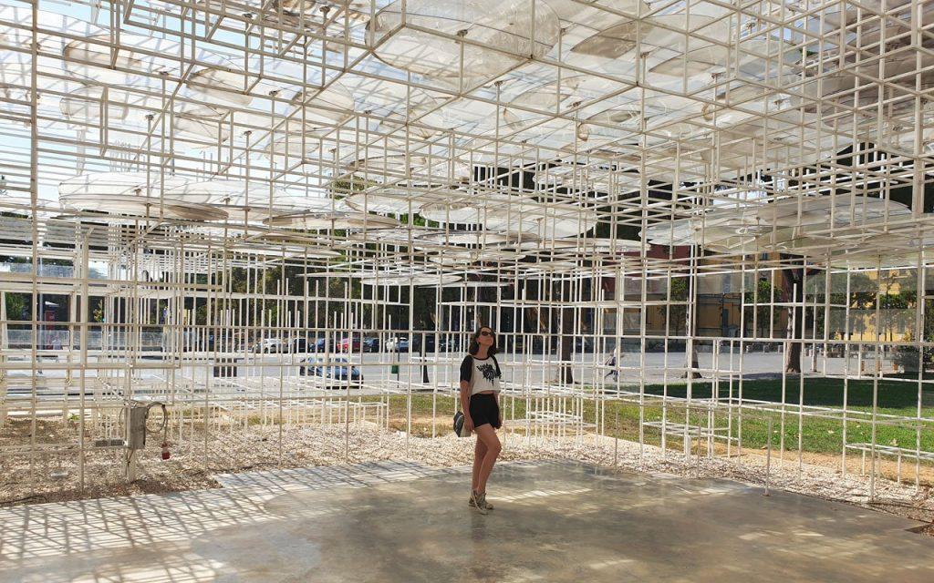 Nuvola di Sou Fujimoto a Tirana, architettura