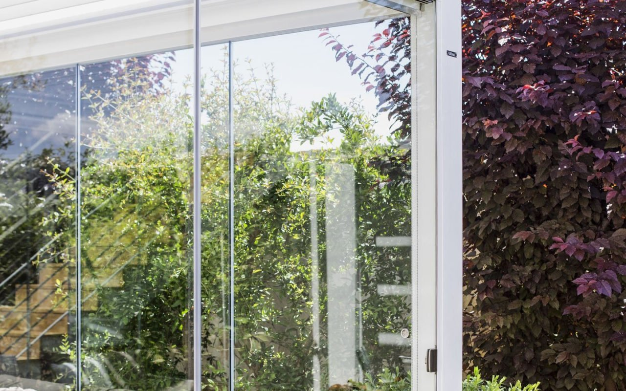 Trend alert: giardino d'inverno con la pergola bioclimatica