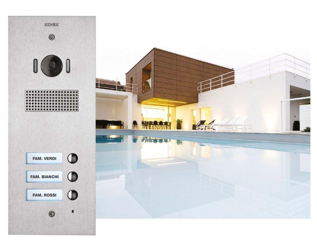 Design e tecnologia innovativa nella videocitofonia Elvox Vimar