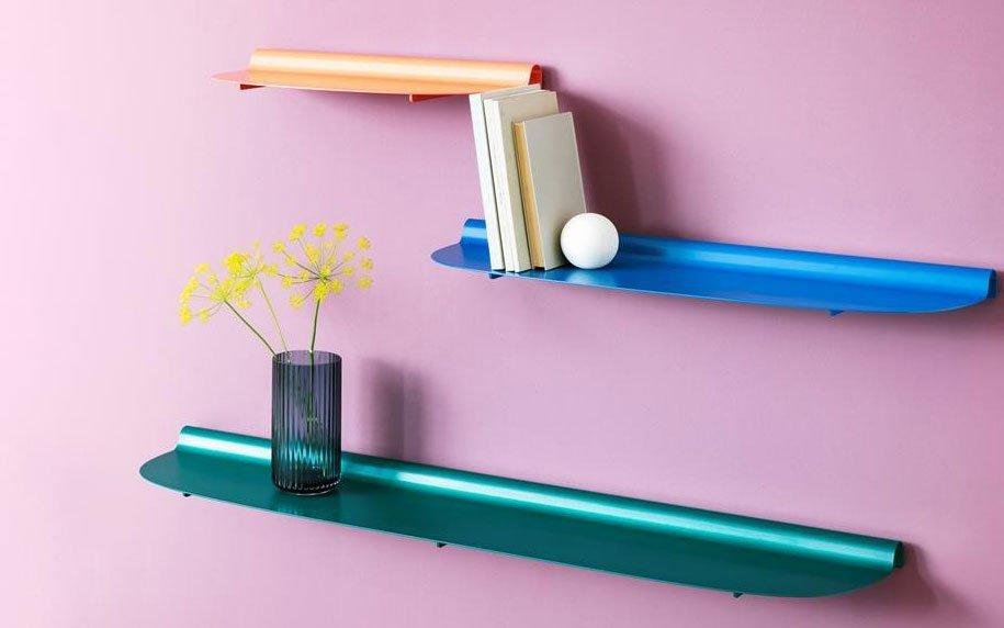 Mensole Hiro Design, idee originali per arredare casa